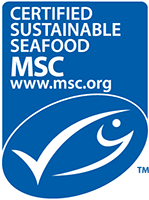 MSC certified sustainable seafood logo